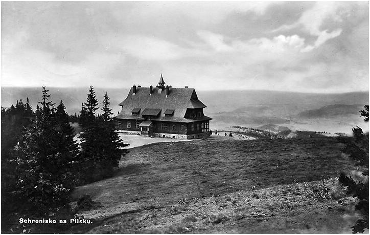 Schronisko na Hali Miziowej - lata 30te XX w.